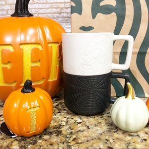 New Starbucks Limited Edition Halloween Mugs